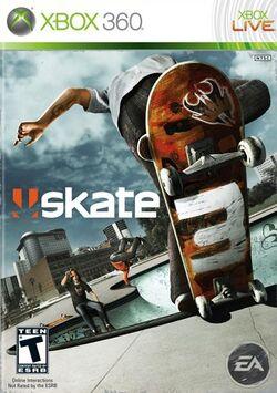 Skate 3 boxart