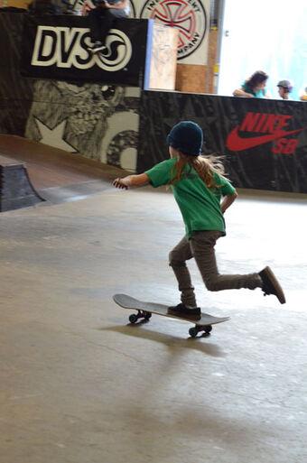 Mongo Pushing Skateboarding Wiki Fandom