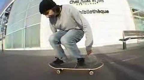Yann nollie late flip