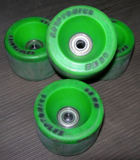Kryptonics Lime Green 65mm