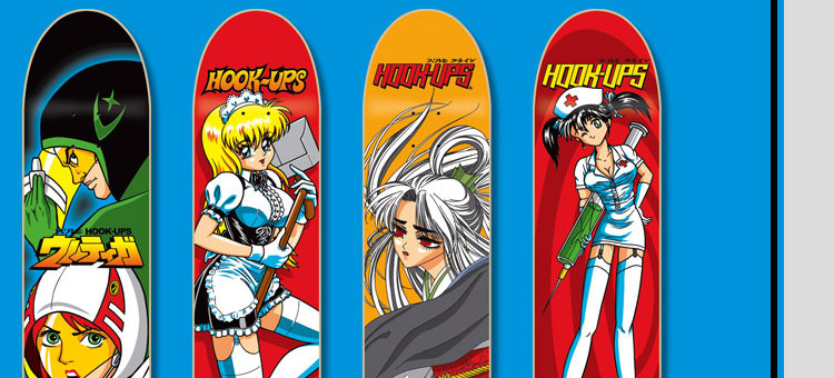 451fe929d Hook-Ups Skateboards