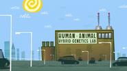 Human-Animal Hybrid Genetics Lab