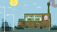 Leftover School Dinners Dump