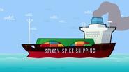 Spikey Spike Shipping