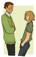 Ew flirting dweebs