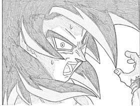 SSJ4 Goku Sketch