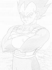 Vegeta Sketched 2
