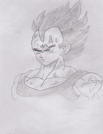 Majin vegeta dragon ball z by joltkid-d34sw5o