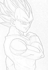Vegeta Sketched