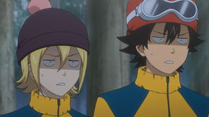 Himeko and Bossun are confused by Roman