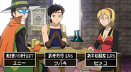 Himeko, Sasuke, and Enigman