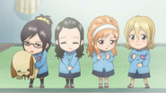 Little Momoka, Daisy, Himeko, Mimori
