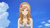 Momoka in a bikini