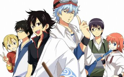 Gintama x Sket Dance crossover Anime