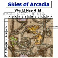 skies of arcadia world map Discoveries Skies Of Arcadia Wiki Fandom