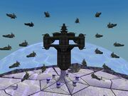 Hydra with fleet