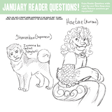 Jinmenken and Haetae- Skin Deep Reader Questions