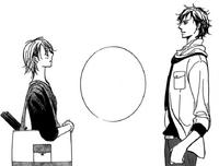 Koga and kyoko stand