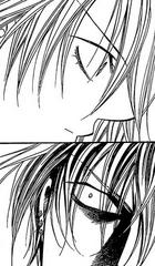 Sho suprised at Kyoko's stiff expression