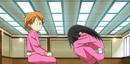 Kanae and Kyoko in chibi