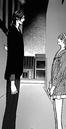 Ren and kyoko mogami standing together