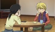 Kyoko and sho dinner talk