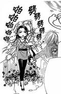 Kyoko runs over to kanae