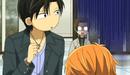 Yashiro looks at Kyoko and Ren