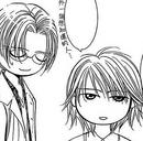 Yashiro and kyoko chibi