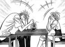 Corn (Ren) and Kyoko having fun