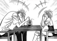 Corn (Ren) and Kyoko having fun