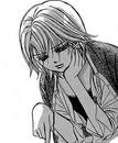 Kyoko looks sad at the stone