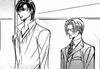 Ren and yashiro walking together
