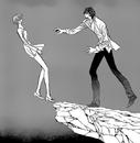 Ren tries to catch kyoko