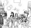 The people greet kyoko on her bday