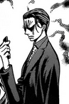 Kuresaki frowns