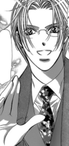 Yashiro tries to greeet kyoko
