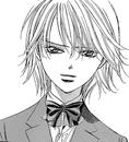 Kyoko smiles to saena
