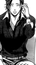 Ren on the phone smiling w lory
