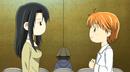 Kyoko and Kanae stares