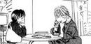 Sho eats his favorite pudding