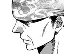 Taisho looks intently