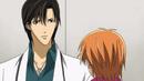 Ren stares at Kyoko back