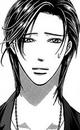 Ren looks at the calmer kyoko