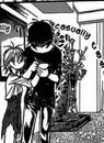 Kyoko express her gratitude