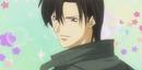 Ren smiles at Kyoko