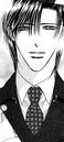 Ren smiling indirectly to kyoko