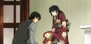 Ren helping Kyoko