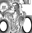 Blonde ren sees Kyoko