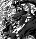 Murasame separates Setsu and Cain